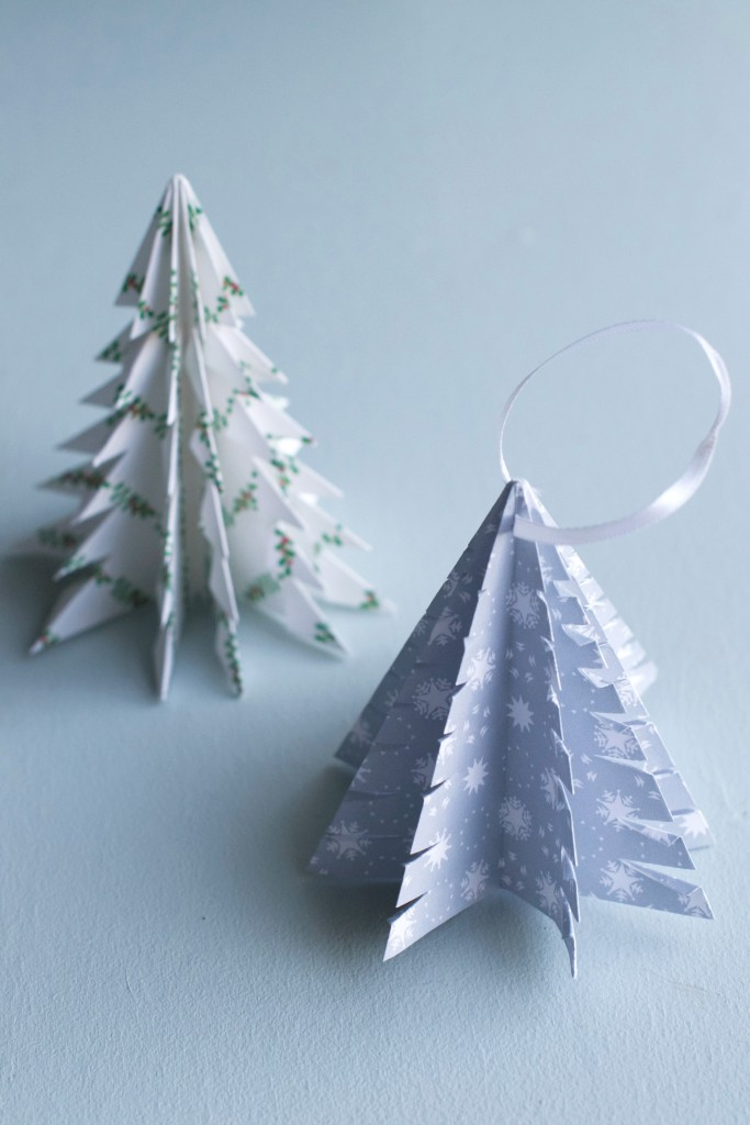 DIY Origami Christmas Tree | Hungry Heart