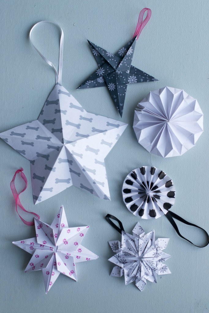 DIY Origami Stars and Snowflakes | Hungry Heart