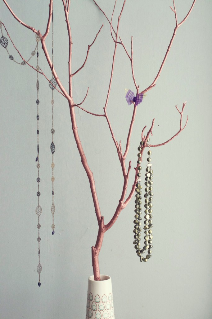 DIY Branch Jewelry Tree | Hungry Heart