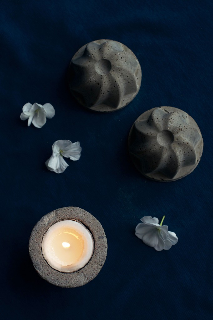 DIY Easy Concrete Votive Tutorial | HungryHeart.se