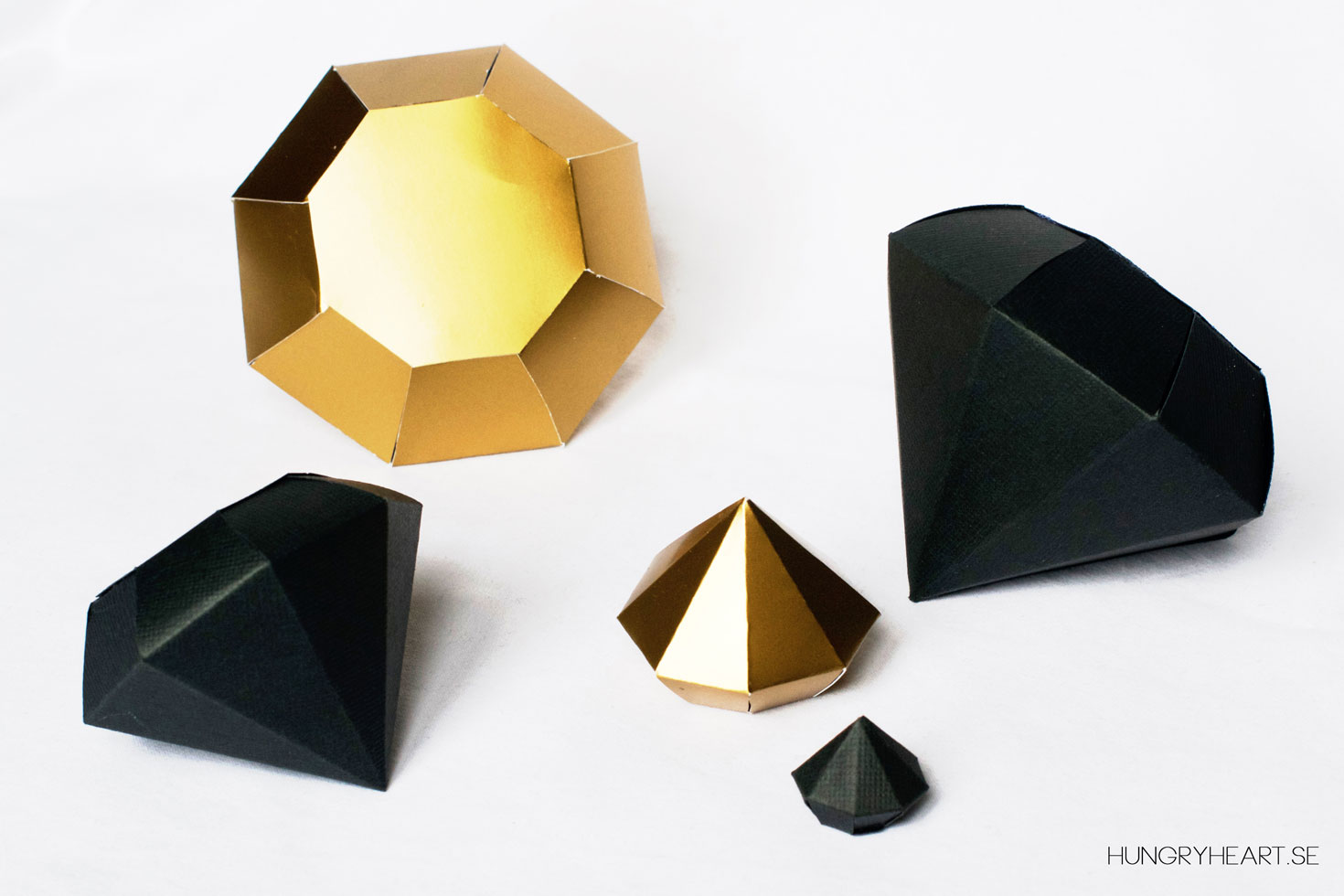 ornaments guide folding origami diamond paper