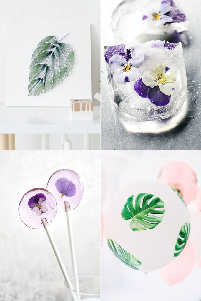 20 DIY Projects with Plants and Flowers | HungryHeart.se