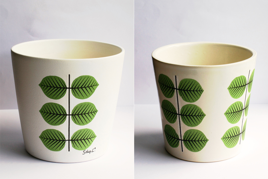 DIY Leaf Decoupage Plant Pot Tutorial | HungryHeart.se
