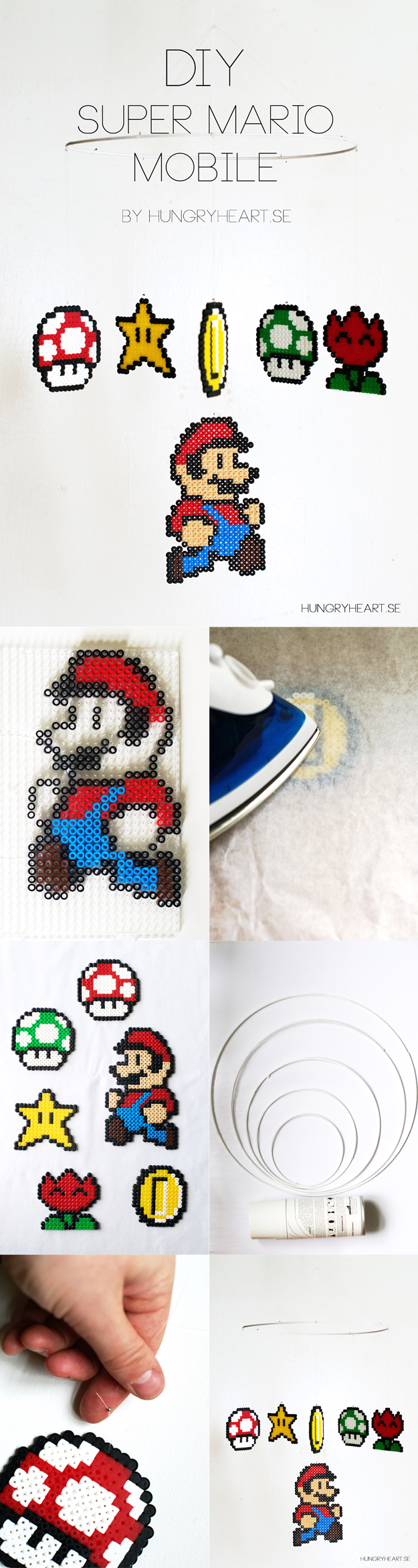 DIY Super Mario Mobile Tutorial | HungryHeart.se