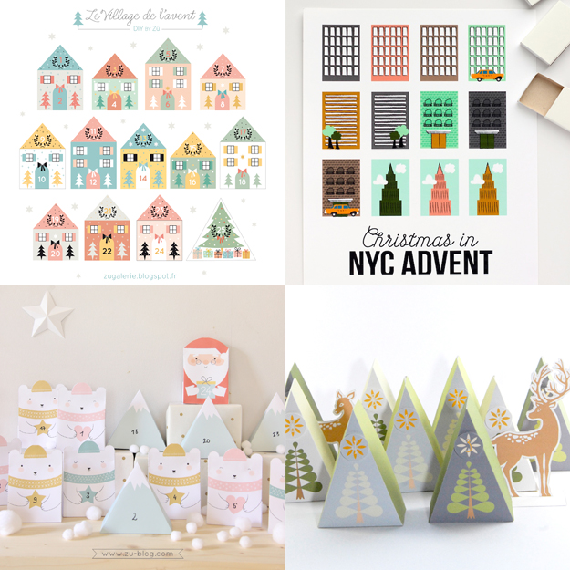DIY Cute Advent Calendars | Hungry Heart