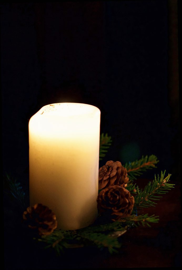 Christmas Candle | Hungry Heart