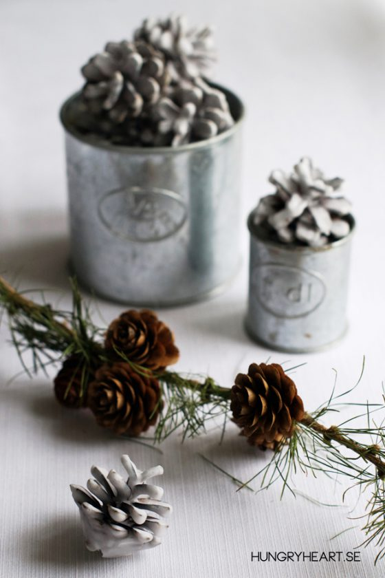 DIY Environmentally Friendly Holiday Decor & Fire Starter | Hungry Heart