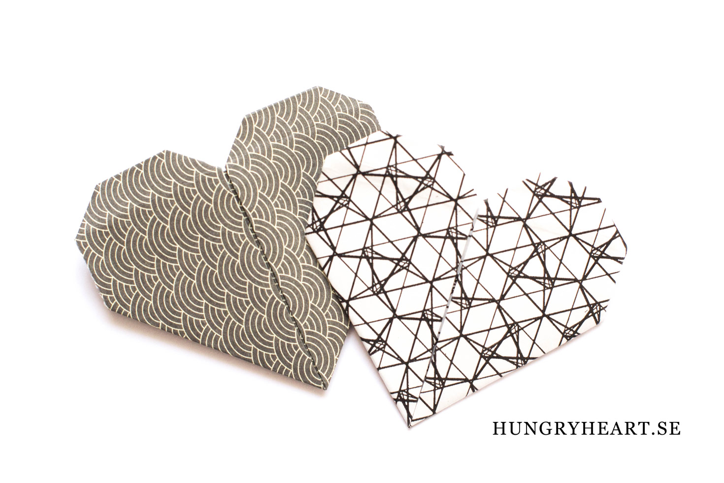 DIY Origami hjärta | Hungry Heart
