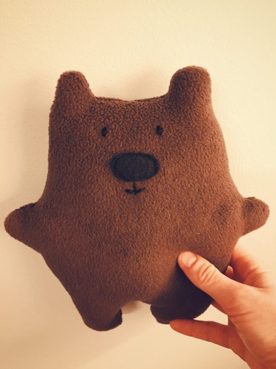 DIY Cute Teddy Bear with FREE Sewing Pattern | HungryHeart.se