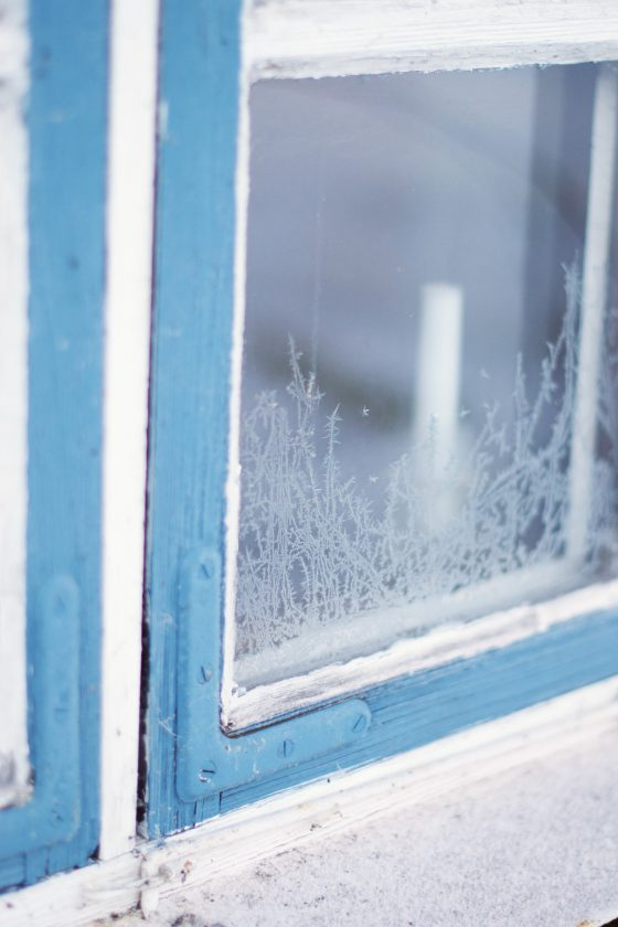 Frosty Window Panes | Hungry Heart