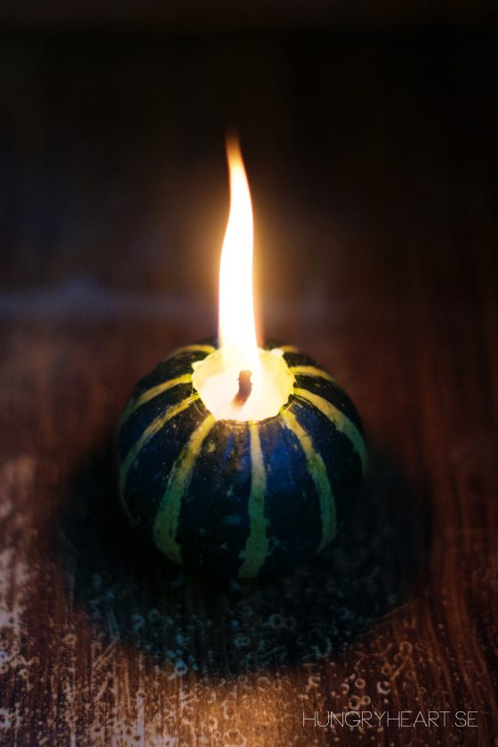 DIY Mini Pumpkin Candle Tutorial | Hungry Heart
