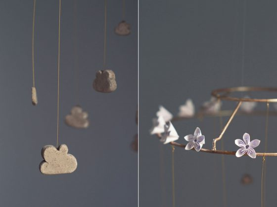 DIY Cloud Mobile | Hungry Heart